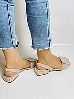 Evromoda. Модные женские кожаные босоножки. Натуральная кожа. Турция. Размер 36 37 38 39 40, фото 8