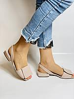 Evromoda. Модные женские кожаные босоножки. Натуральная кожа. Турция. Размер 36 37 38 39 40, фото 4