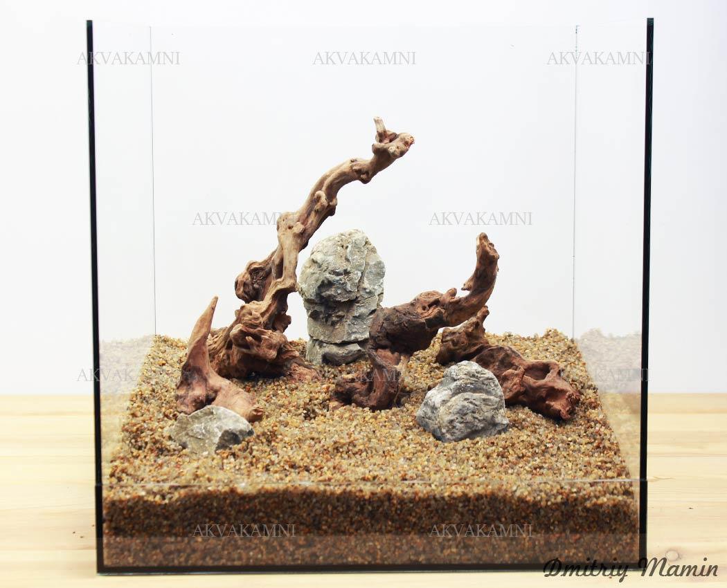 Камни для нано-аквариума N12