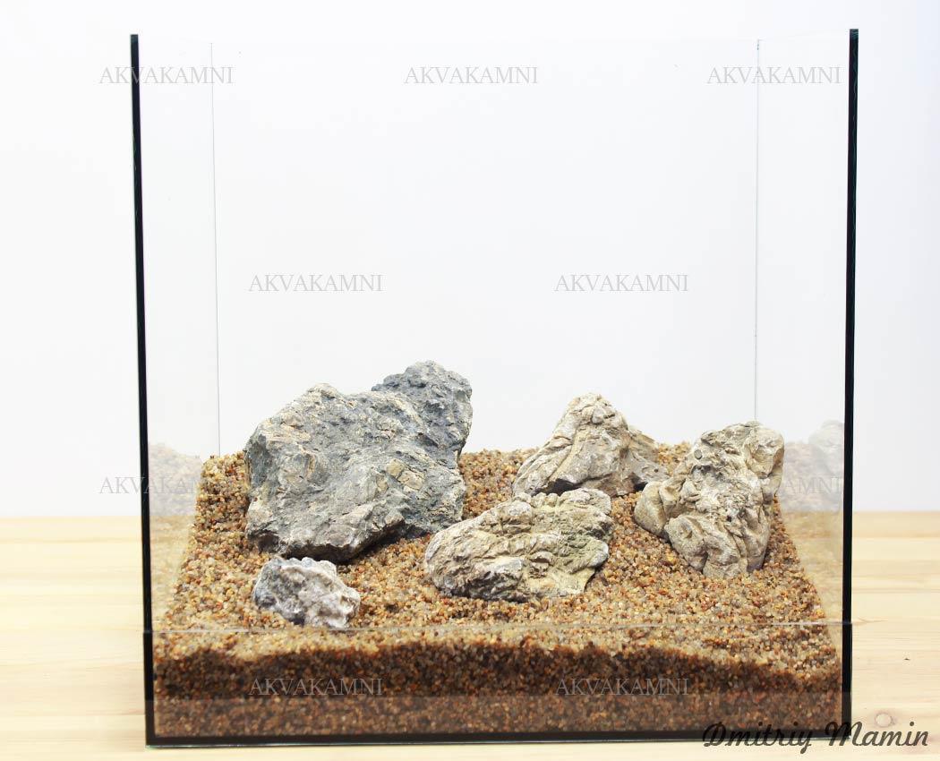 Камни для нано-аквариума N8