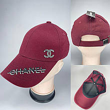 Женская стильная кепка реплика CHANEL