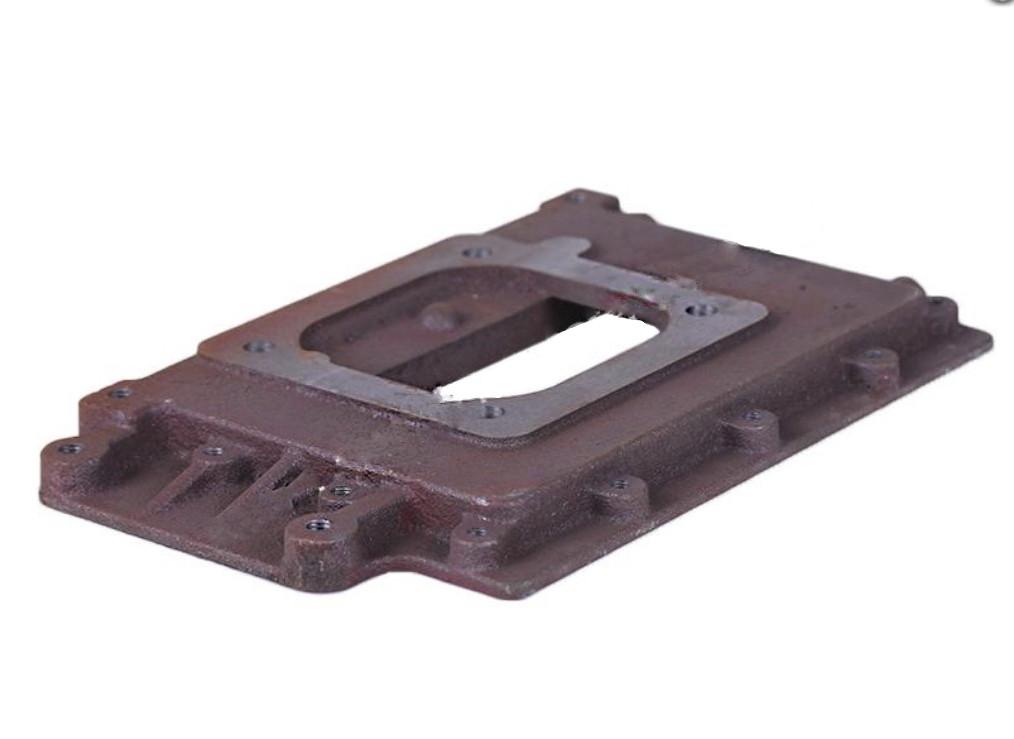 Пластина базова (бачок радіатора нижній) - 180N