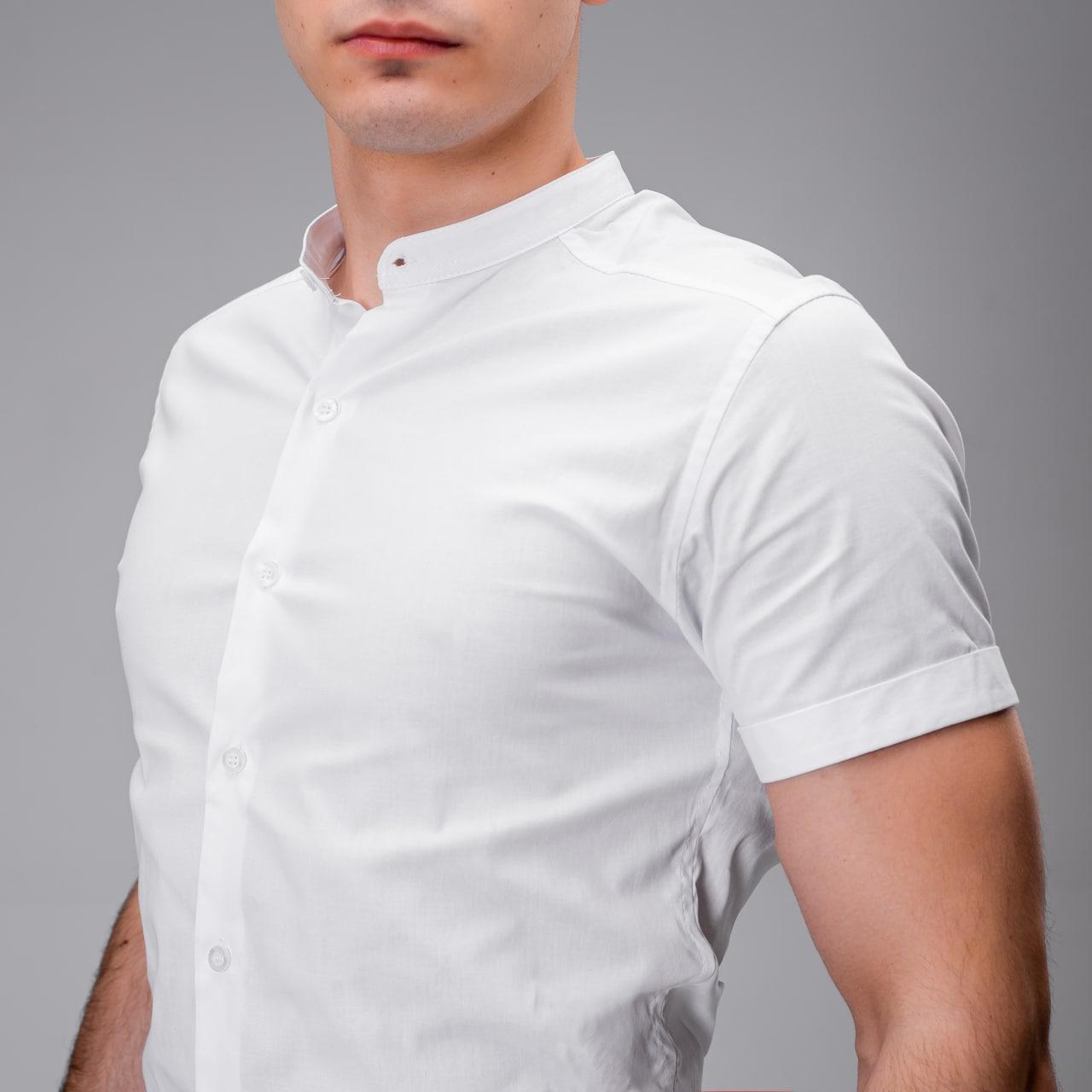 Сорочка Pobedov Solid(Біла; Ментол; Світлий Беж; Чорна ;)