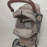Дитяча прогулянкова коляска - книжка з регульованою спинкою CARRELLO Vista CRL-8505 Frost Gray темно-сіра, фото 8
