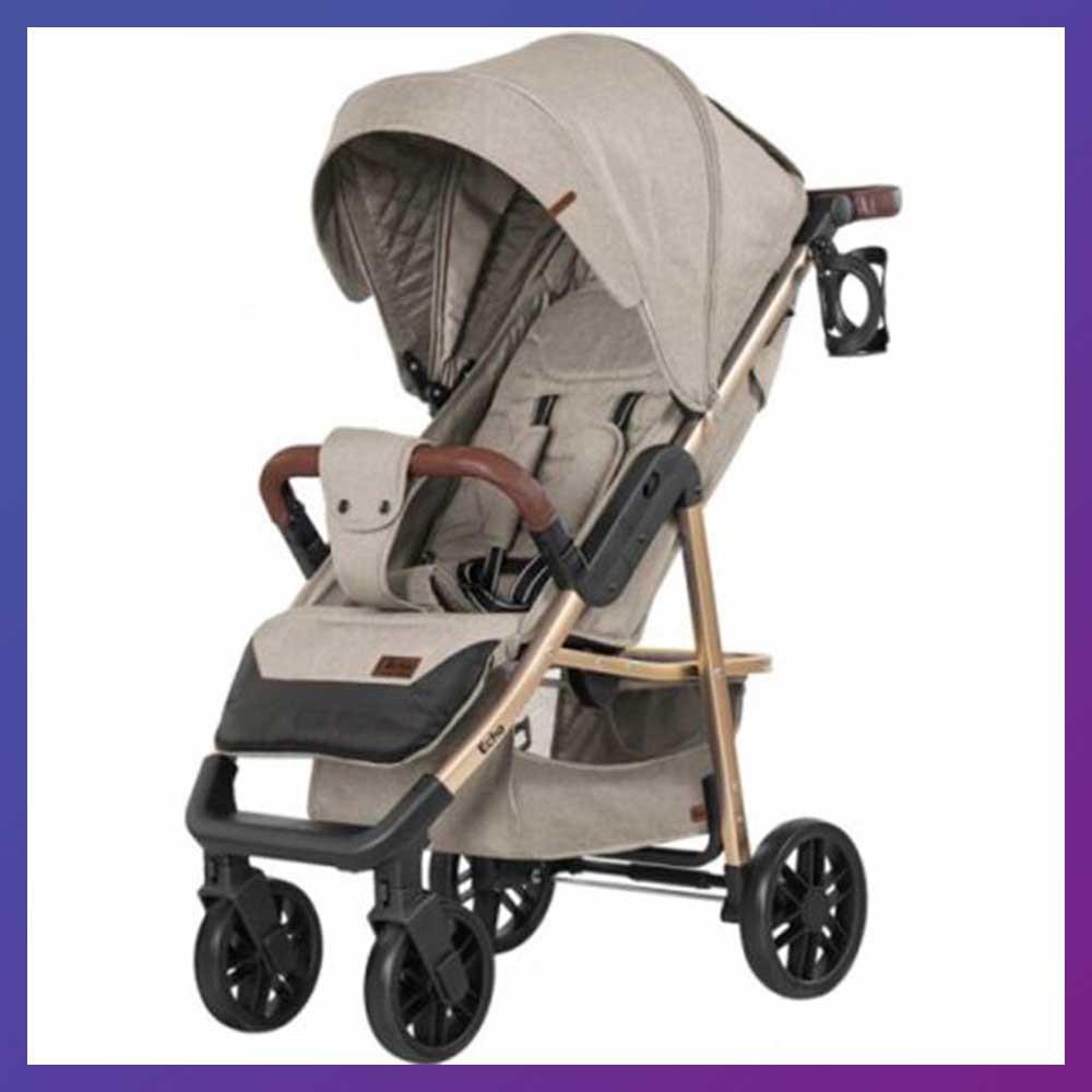 Дитяча прогулянкова коляска - книжка з регульованою спинкою CARRELLO Echo CRL-8508/1 Camel Beige бежева