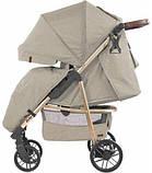 Дитяча прогулянкова коляска - книжка з регульованою спинкою CARRELLO Echo CRL-8508/1 Camel Beige бежева, фото 2