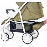 Дитяча прогулянкова коляска - книжка з регульованою спинкою CARRELLO Echo CRL-8508/1 Camel Beige бежева, фото 3
