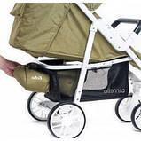 Дитяча прогулянкова коляска - книжка з регульованою спинкою CARRELLO Echo CRL-8508/1 Camel Beige бежева, фото 10