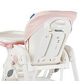 Детский стульчик для кормления с регулируемой спинкой El Camino Dolce 3236 Sweet Pink розовый, фото 8