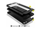 3D Чехол бампер 360 ° + защитное стекло в подарок Iphone 6 / 6s противоударный чехол для айфона, фото 4
