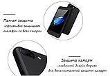 3D Чехол бампер 360 ° + защитное стекло в подарок Iphone 6 / 6s противоударный чехол для айфона, фото 7