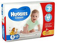 Подгузники Huggies Classic 4, 7-16 кг, 68 шт. (5029053543154)