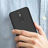 3D Чехол бампер 360° Xiaomi Redmi 8 противоударный + СТЕКЛО В ПОДАРОК. Чохол сяоми редми 8, фото 6