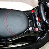 Детский толокар-электромобиль Mercedes-Benz двухместный на резиновых колесах Bambi M 3853 черный, фото 9