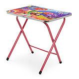 Детский складной столик со стульчиком Русалочка A19-MERM розовый, фото 3