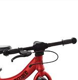 Дитячий беговел велобіг від на гумових надувних колесах 12 дюймів PROF1 KIDS M 5450A-1 червоний, фото 3