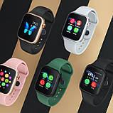 Смарт часы  Умные часы Smart Watch Z13 с сенсорным экраном и пульсометром черные + ПОДАРОК, фото 3