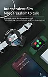Смарт часы  Умные часы Smart Watch Z13 с сенсорным экраном и пульсометром черные + ПОДАРОК, фото 6