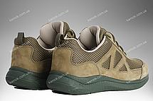 Тактические кроссовки, военная летняя обувь, армейская спецобувь ENIGMA (олива), фото 3