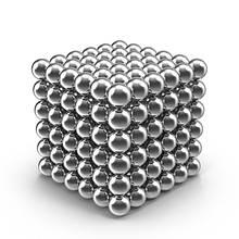 Конструктор-головоломка YBB Neocube 216 шариков Silver