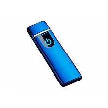 Электронная USB зажигалка YBB Синяя