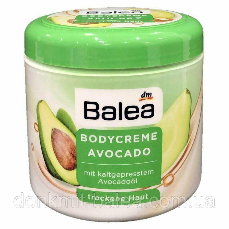 Зволожуючий крем для тіла з маслом Авокадо Balea Avocado BodyCreme 500 мл