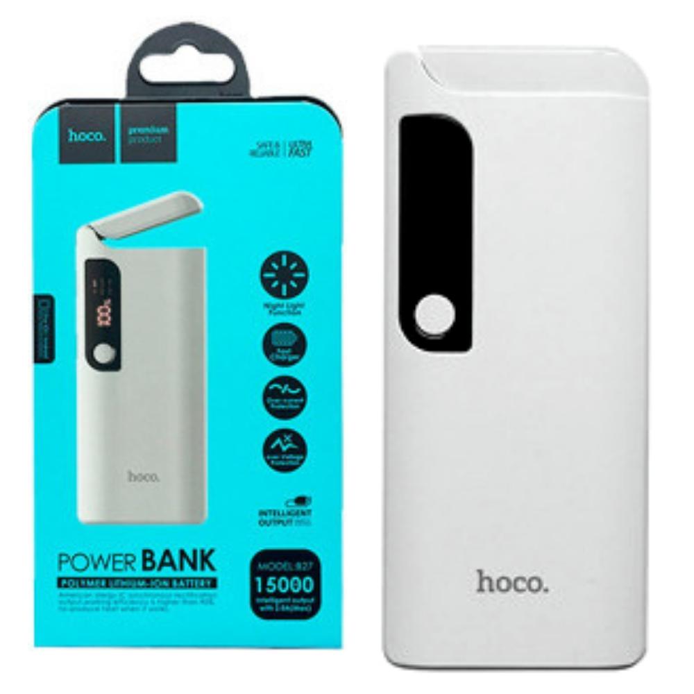 Power Bank Hoco B27 Pusi 15000 mAh Original белый