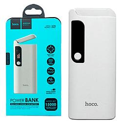Power Bank Hoco B27 Pusi 15000 mAh Original білий