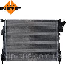Радиатор охлаждения двигателя на Renault Trafic / Opel Vivaro 2.0dCi (2006-2014) NRF (Нидерланды) NRF53966