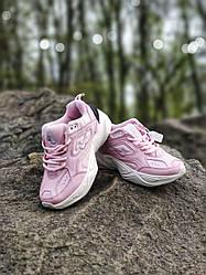 Кроссовки   кеды   обувь Nikкe M2K Tekno Pink 2 (Топ качество) Жіночі кросівки