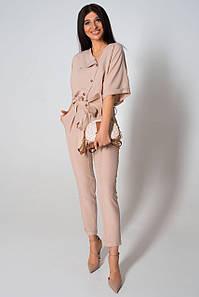 Женский элегантный костюм с блузой и брюками (Эрвин jd)