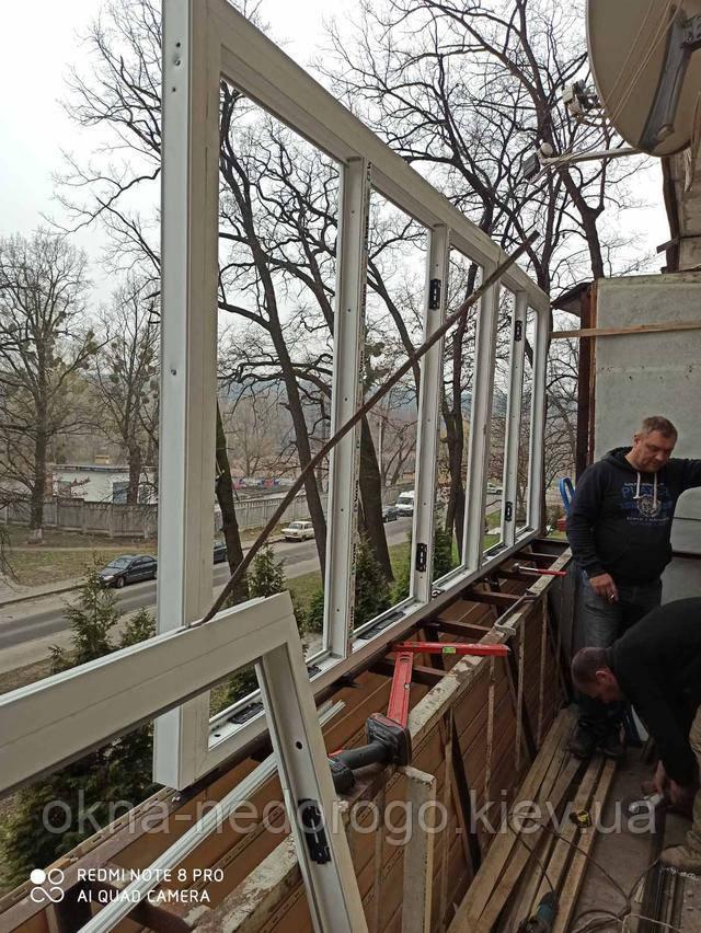 Балкон під ключ Вишгород від компанії Okna Nedorogo