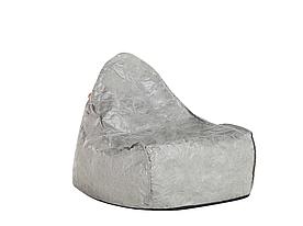 Серый пуф для кресла DROP