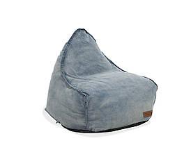 Джинсовий пуф для крісла DROP
