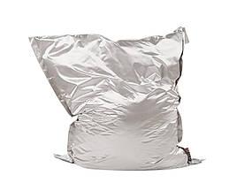 Пуф 140х180 см серебряный мешок