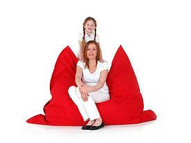 Мішок для пуфа 140 x 180 см червоний