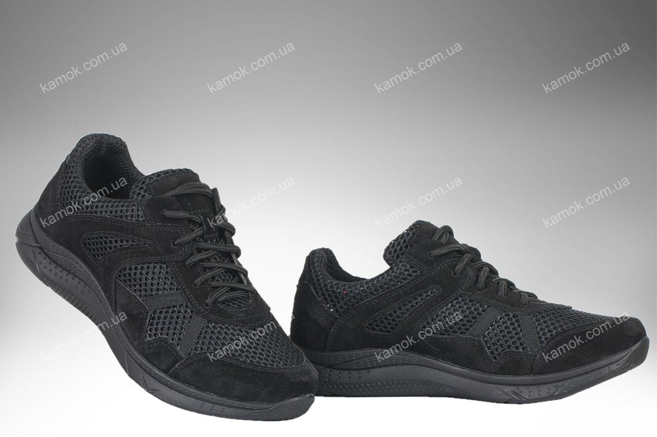 Летние облегченные кроссовки / военная спецобувь APACHE Vent (black)
