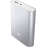 Power Bank Xiaomi Mi 10400 mAh серебристый, фото 2