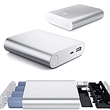 Power Bank Xiaomi Mi 10400 mAh серебристый, фото 5