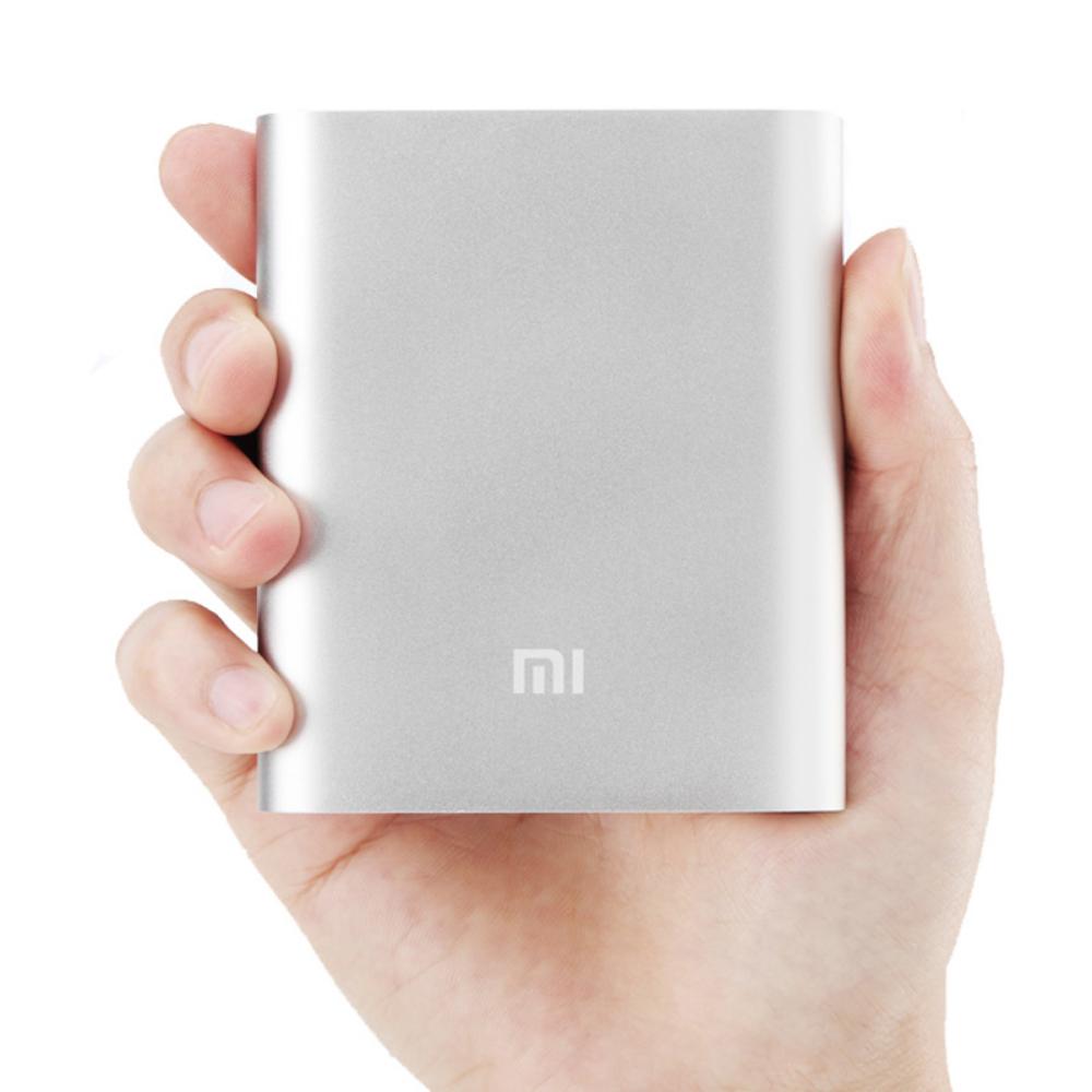 Power Bank Xiaomi Mi 10400 mAh серебристый