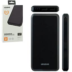 Power Bank LEGEND LD-4001 16000mAh чорний