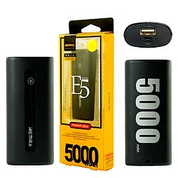 Power Bank Remax E5 5000 mAh чорний