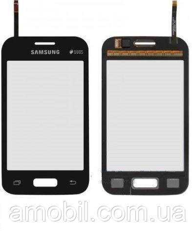 Сенсор Samsung G130H Galaxy Young 2 Grey + самоклейка