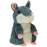 Інтерактивна іграшка говорить хом'як повторюшка, дитяча говорящяя м'яка іграшка, фото 5