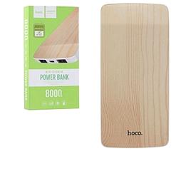Power Bank Hoco J5 Wooden 8000 mAh Original Pear Wood