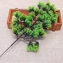 Штучна зелень, гілка бонсай, 35 см
