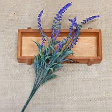 Зелень для букетов - цветы лаванды 30 см, куст 6 веточек