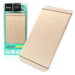Power Bank Hoco UPB03 I6 6000 mAh Original золотистый