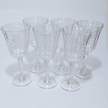 Набір склянок для коктейлю полікарбонат 450 мл 6 шт