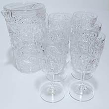Набір склянок 360 мл глечик полікарбонат 2.2 л